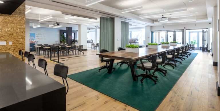 How Local Touches Create a Sense of Place in an Office