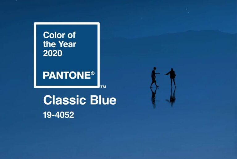 Pantone's Color of the Year 2020, Classic Blue, Adds Calm & Comfort